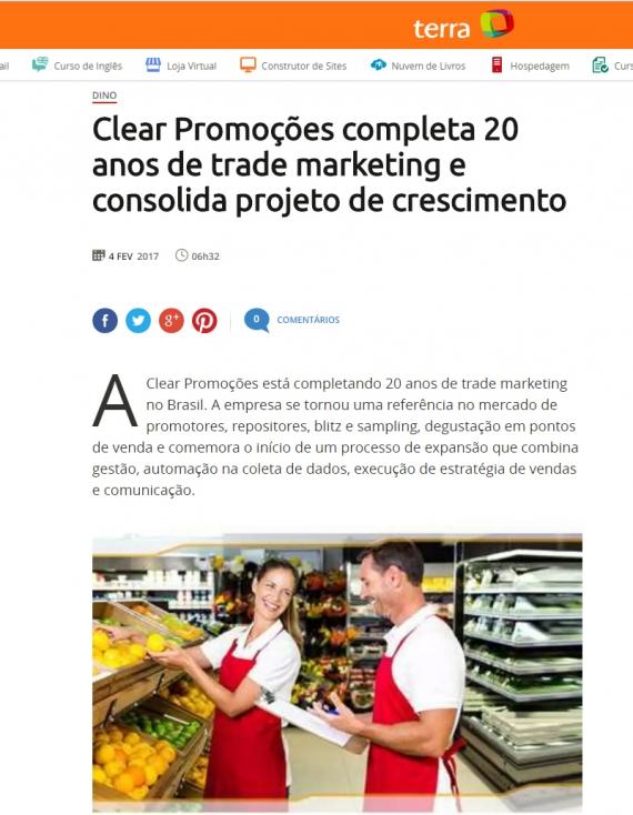 Clear Promoções completa 20 anos de trade marketing e consolida projeto de crescimento