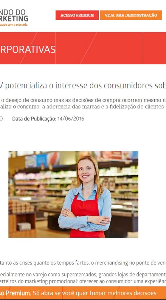 Merchandising no PDV potencializa o interesse dos consumidores sobre os produtos